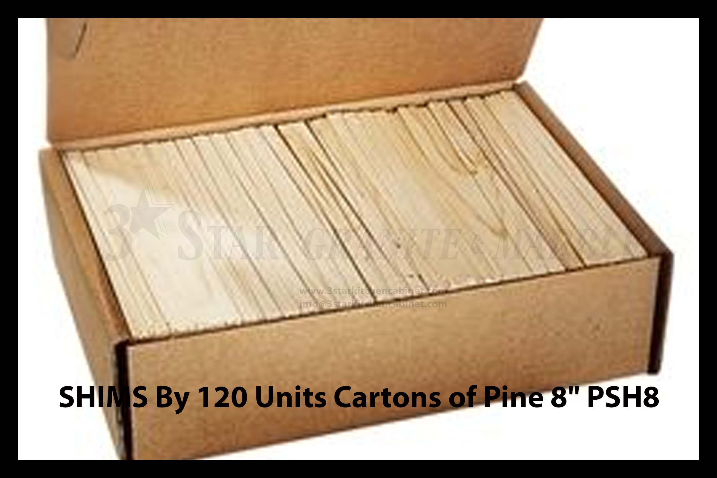 Shims By 120 Units Cartons Of Pine 8